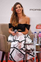 Jessica Alba at Mission Hills World Celebrity Pro-Am Press Conference in Haikou