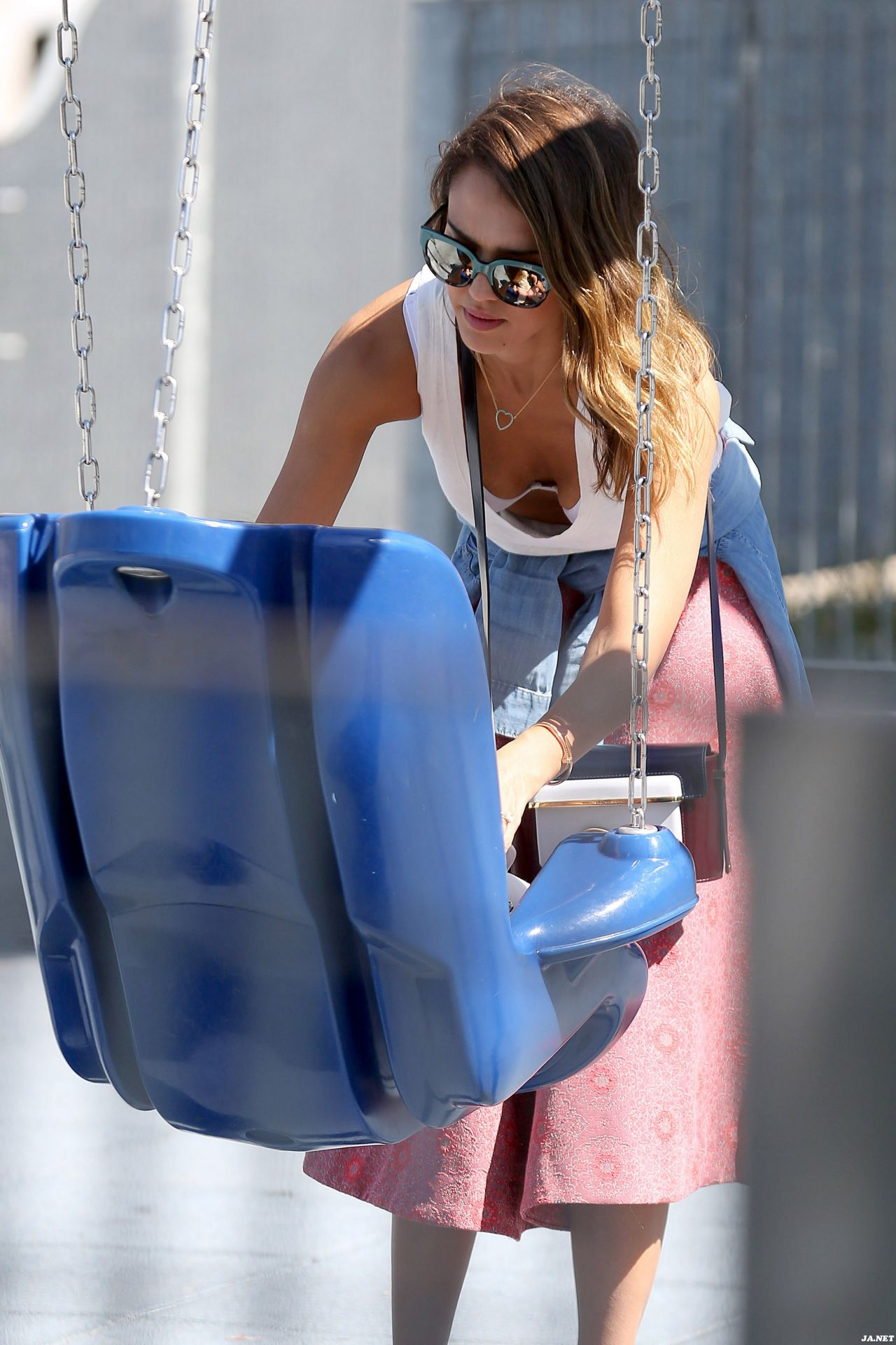 Jessica Alba at The Park in Los Angeles - Sept. 2014