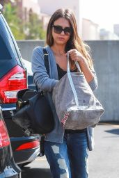 Jessica Alba in Ripped Jeans - at Rite Aid in Beverly Hills - October 2014