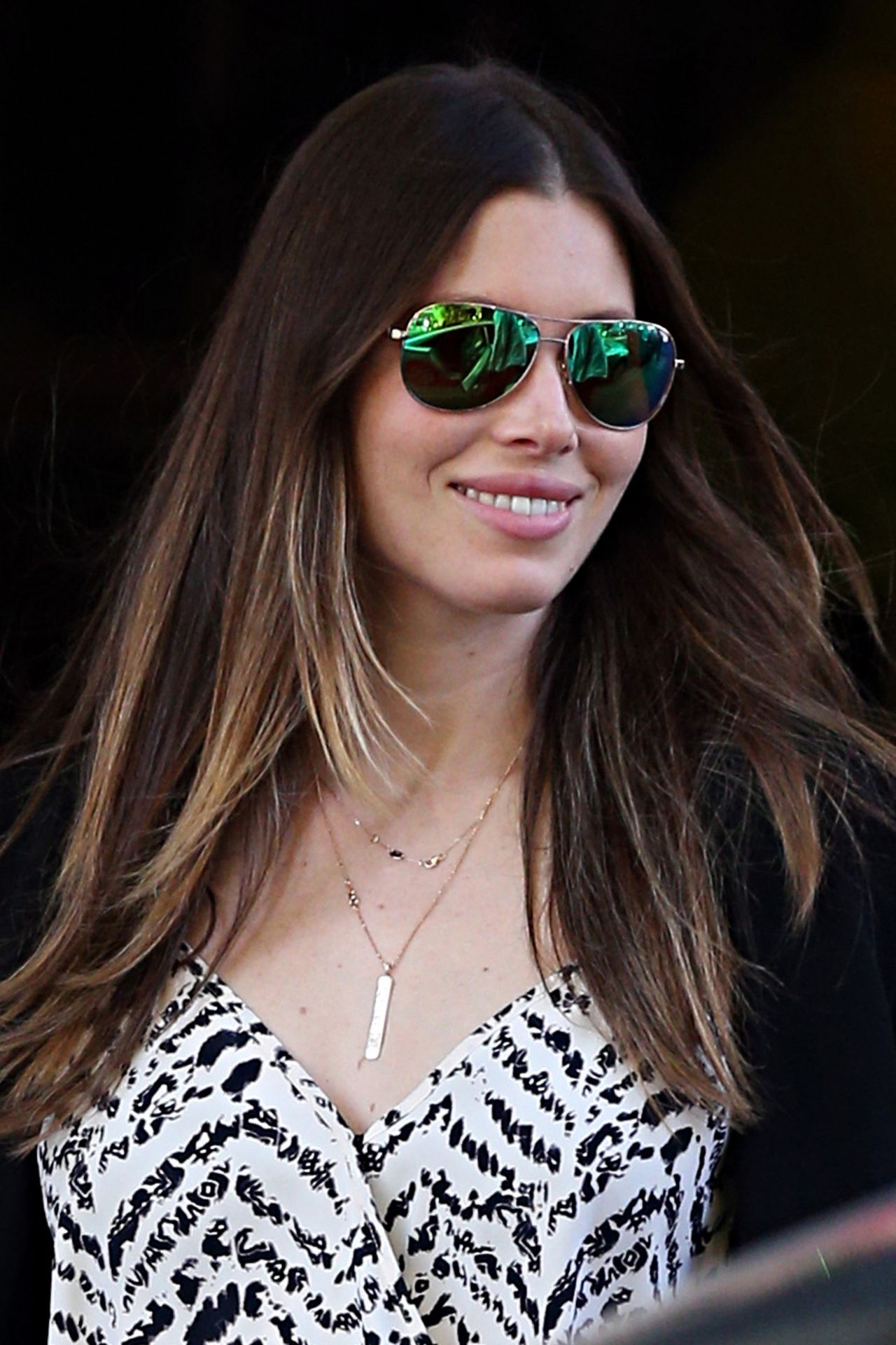 Jessica Biel - Out in Sydney - October 2014