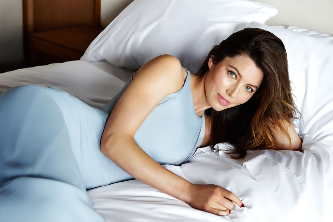 Jessica Biel - Photoshoot for Yahoo Style Digital Magazine - September 2014
