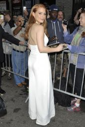 Jessica Chastain Arriving to Appear on