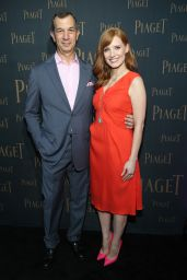 Jessica Chastain - Extremely Piaget Launch Event in Beverly Hills - October 2014
