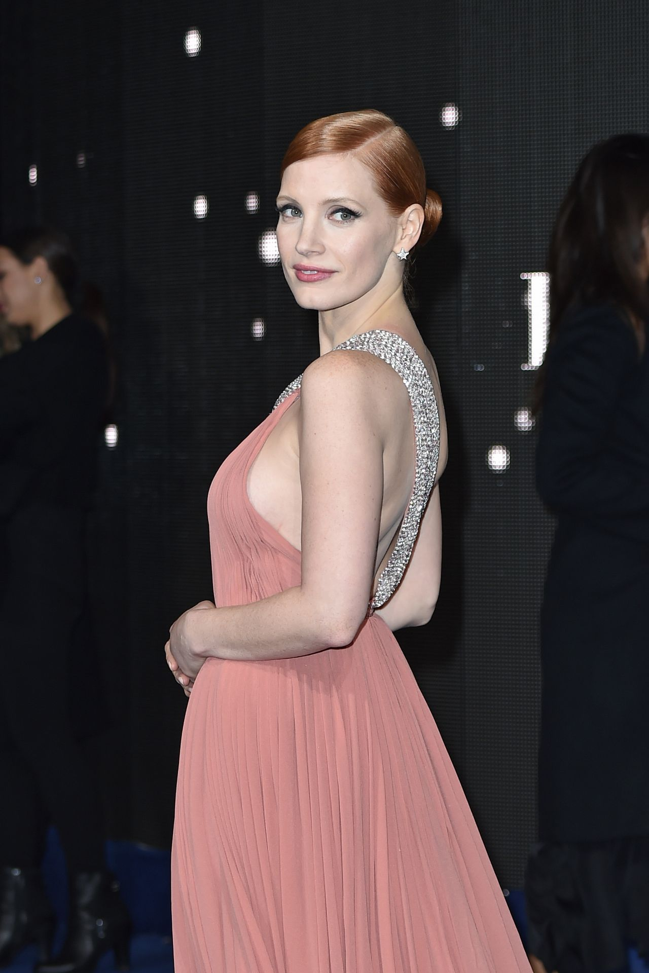 Jessica Chastain Interstellar Premiere At The Odeon
