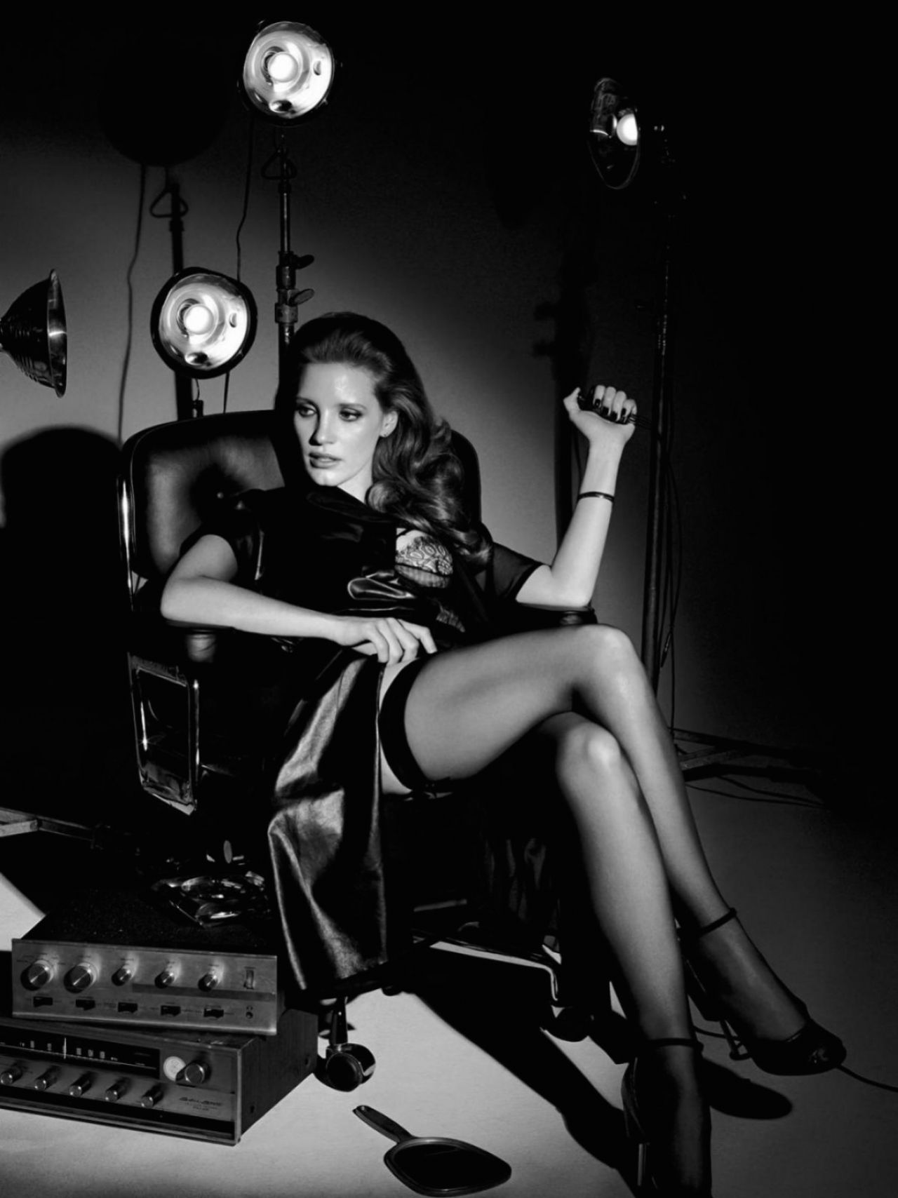 Jessica Chastain - Interview Magazine October 2014 Issue