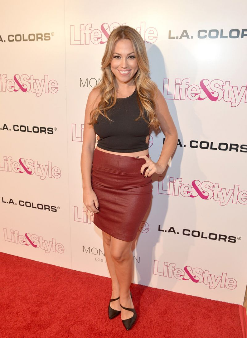 Jessica Hall – Life & Style Weekly's Party in West Hollywood – October 2014