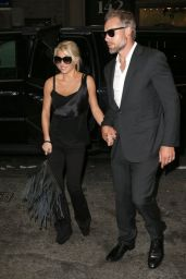 Jessica Simpson in All Black - Out in New York City, Sept. 2014