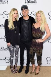 Jessica Simpson - Jessica Simpson Collection Event at Dillard