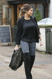 Jessica Wright Street Style - Shopping in Essex, October 2014