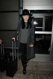 Jessie J at JFK Airport in New York City - October 2014
