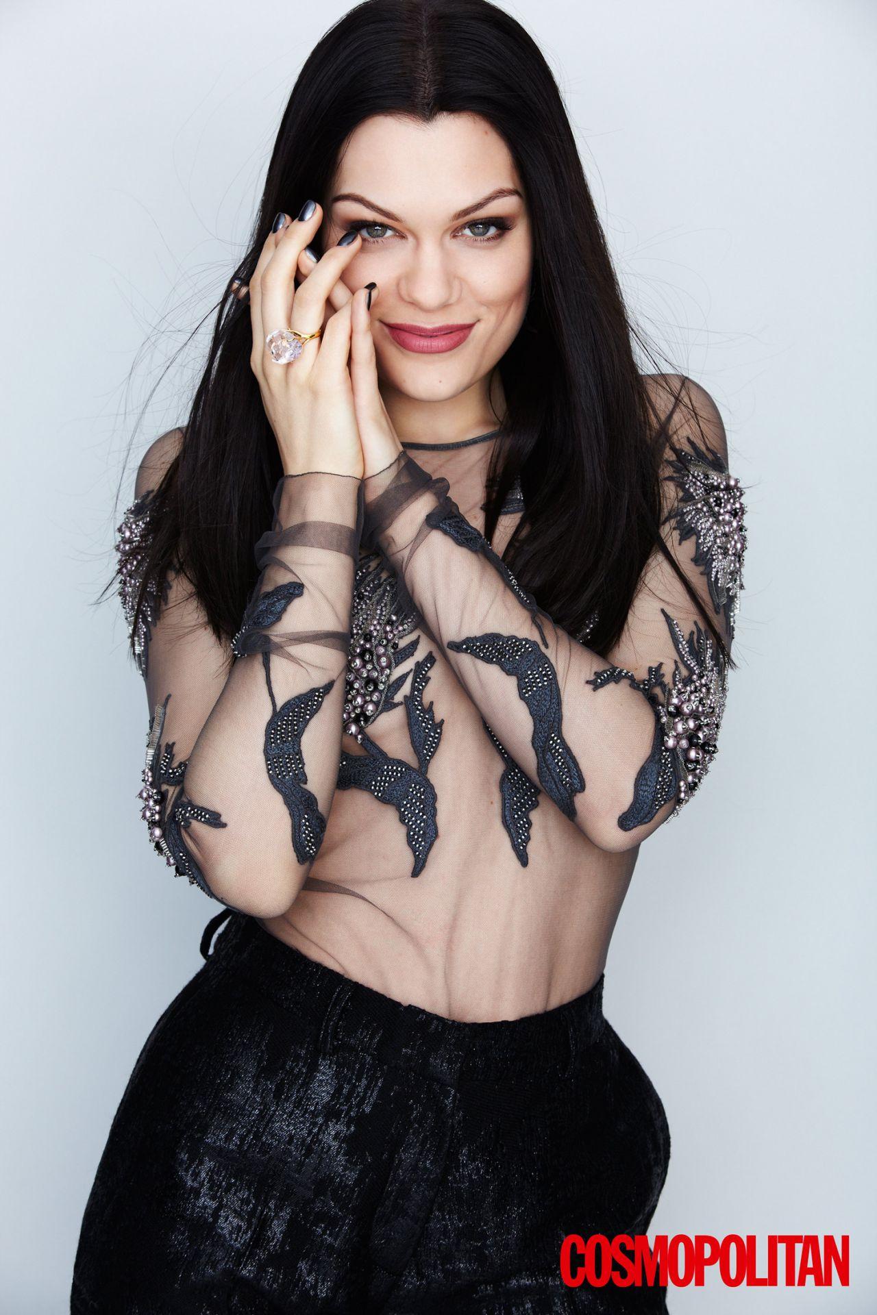 Jessie J - Cosmopolitan Magazine Uk - November 2014 Issue-9479