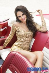 Jordana Brewster - Cosmo Magazine For Latinas - Winter 2014
