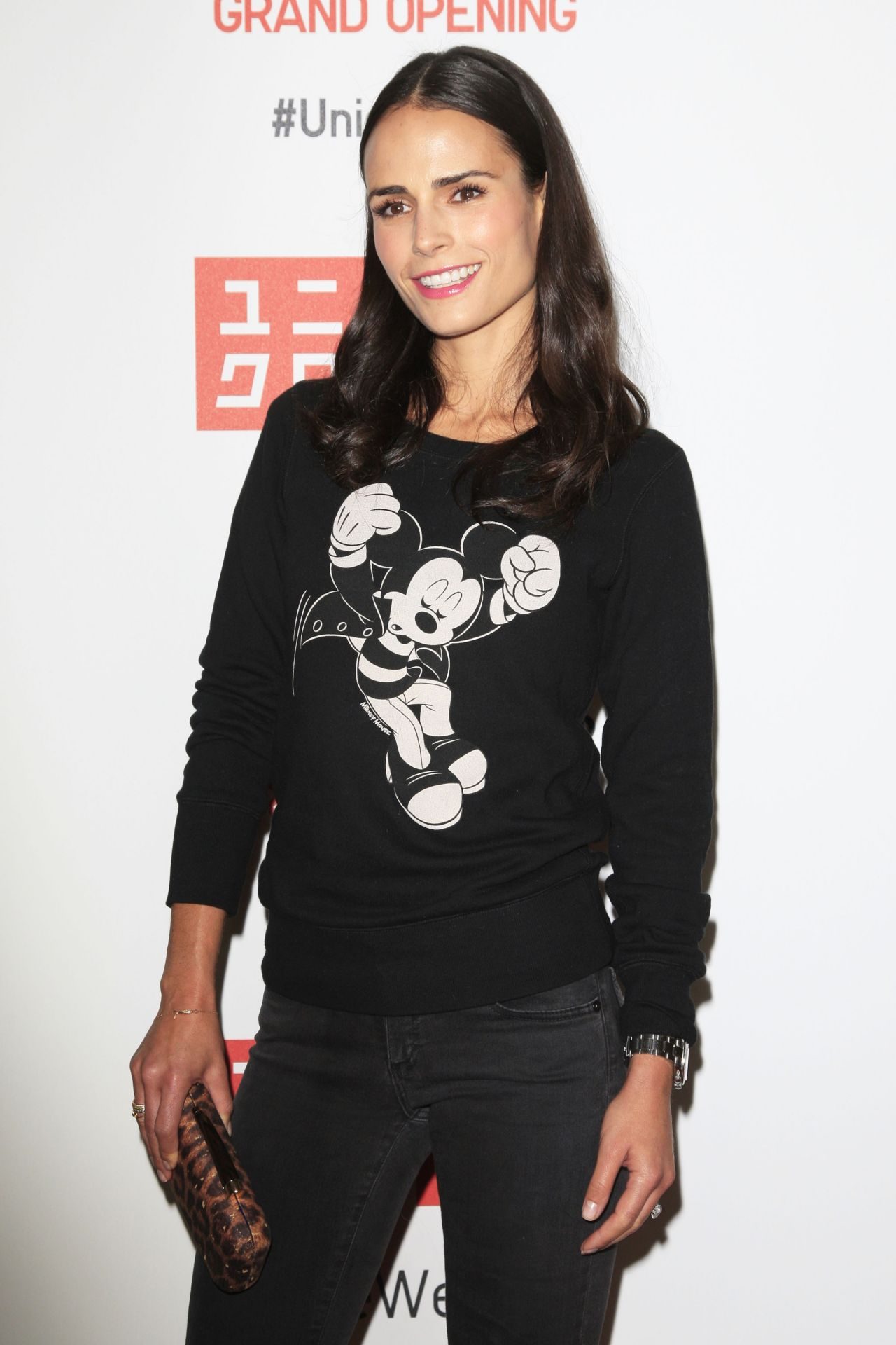 Jordana Brewster - UNIQLO Flagship Store Opening in Los Angeles