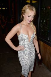 Jorgie Porter – Gemma Merna's Leaving Party in Manchester – October 2014
