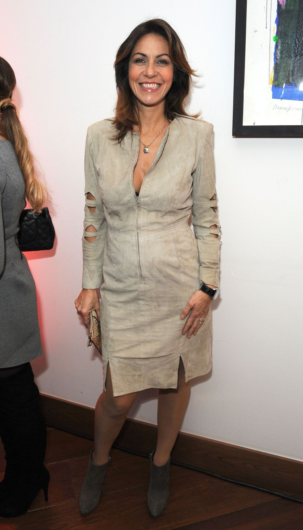 Julia Bradbury at Party Hosted by Jonathan Shalit to ...