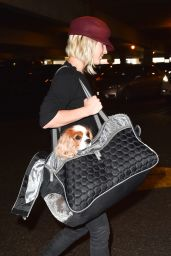 Julianne Hough at LAX Airport in Los Angeles - Oct. 2014