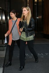 Juno Temple Casual Style - Out in New York City - October 2014