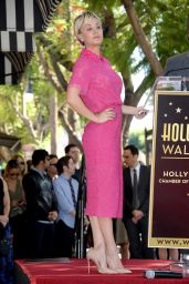 Kaley Cuoco - Honored On The Hollywood Walk Of Fame - October 2014