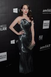 Kat Dennings - 2014 amfAR LA Inspiration Gala in Hollywood