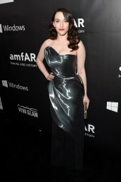 Kat Dennings - 2014 amfAR LA Inspiration Gala in Hollywood