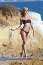 Kat Torres Photoshoot for 138 Water At The Beach In Malibu, October 2014