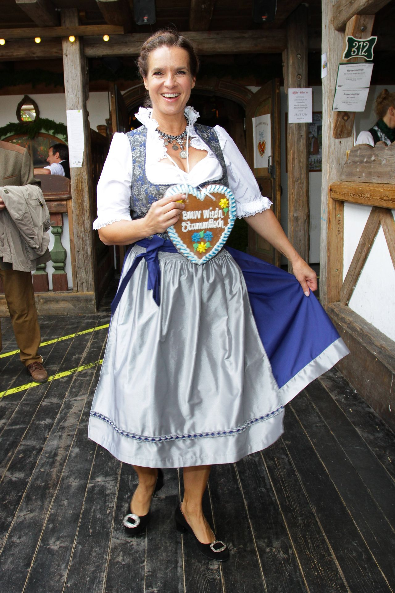 Katarina Witt - Oktoberfest in Munich, September 2014