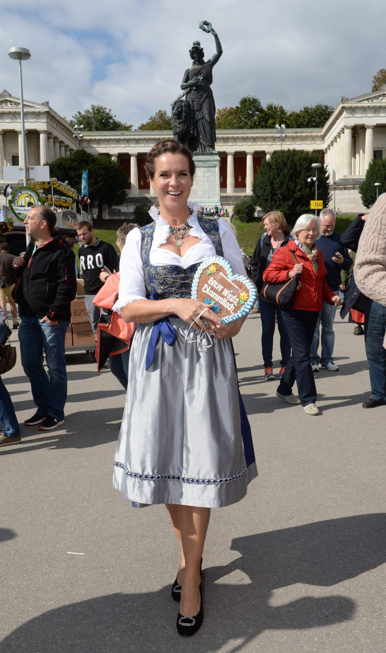 Katarina Witt - Oktoberfest in Munich, September 2014