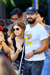 Kate Mara at Disneyland in Anaheim - October 2014