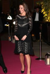 Kate Middleton at the Action on Addiction Gala in London - October 2014