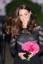 Kate Middleton - Autumn Gala Evening Dinner in London - October 2014