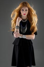 Katherine McNamara - Photoshoot for Thrifty Hunter Magazine Fall 2014
