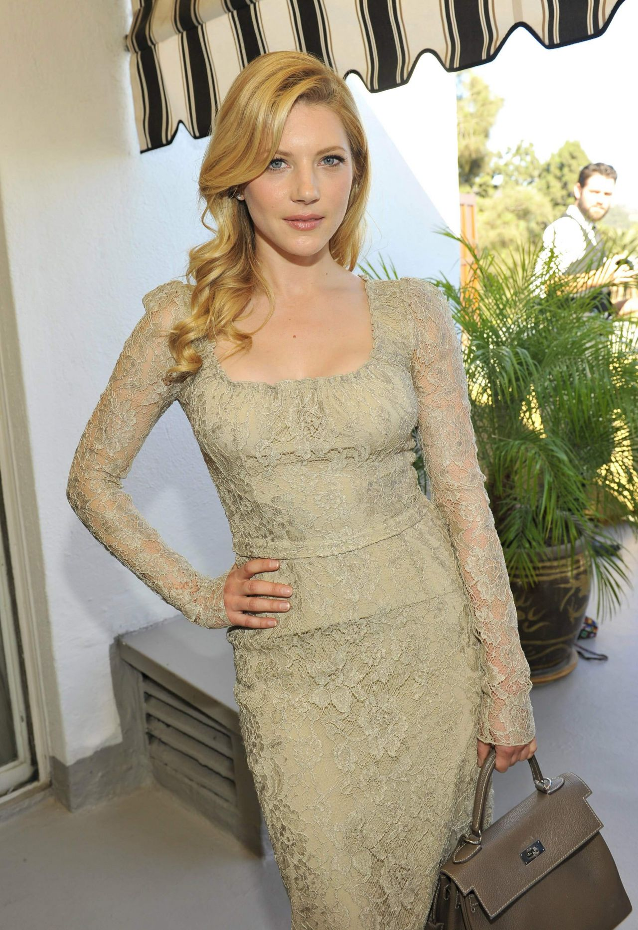 Katheryn Winnick - Eddie Redmayne, Vanity Fair And Burberry Celebrate BAFTA 2014