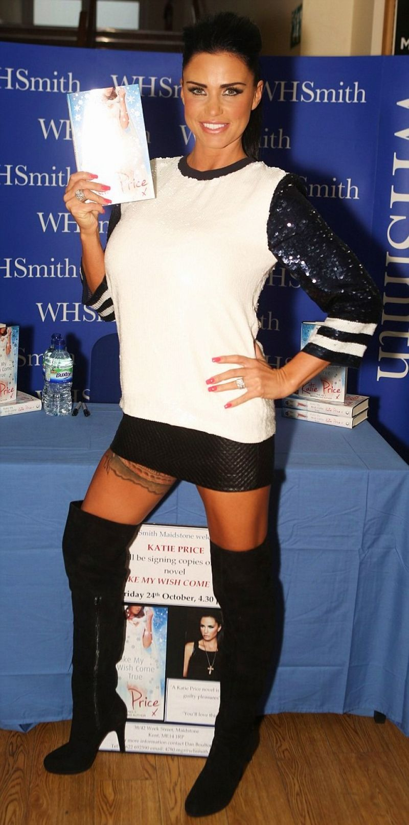 Katie Price Promoting Her Book