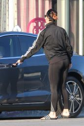 Katy Perry Booty in Tights - out in Los Angeles, Oct. 2014
