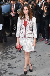 Kaya Scodelario - Paris Fashion Week - Chanel Show, September 2014