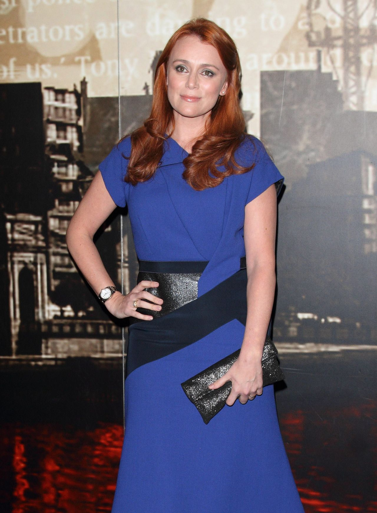 Keeley Hawes at Specsavers Crime Thriller Awards 2014 in London