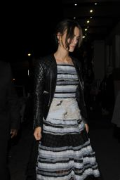 Keira Knightley With Husband Leaving the Mayfair Hotel - October 2014