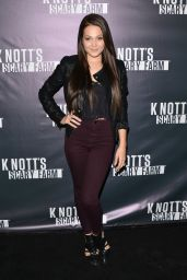 Kelli Berglund at Knotts Scary Farm Celebrity VIP Opening at Knott's Berry Farm
