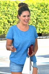 Kelly Brook in Cutoffs - Out in Los Angeles - october 2014