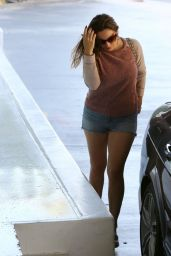 Kelly Brook - Out in West Hollywood - October 2014