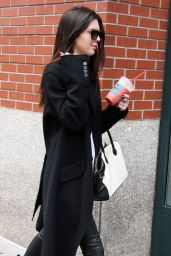 Kendall Jenner Casual Style - Out in New York City - October 2014