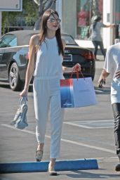 Kendall Jenner - Shopping at Fred Segals in West Hollywood - October 2014