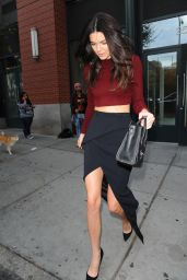 Kendall Jenner Style - Out in New York City - October 2014