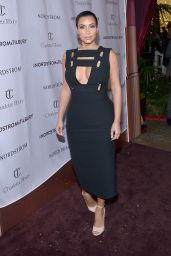 Kim Kardashian at Charlotte Tilbury arrives in America: VIP Beauty Launch - Oct. 2014