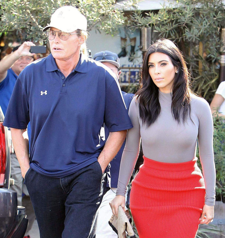 Kim Kardashian Amp Bruce Jenner Filming At Little Next