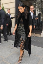 Kim Kardashian Shopping in Paris - September 2014