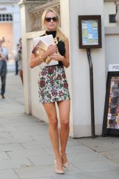 Kimberley Garner Leggy - Out in London, Sept. 2014