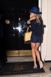 Kimberley Garner Leggy - Out in Mayfair in London - October 2014