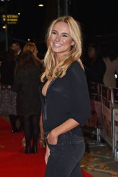 Kimberley Garner on Red Carpet – 'The Rewrite' Premiere in London