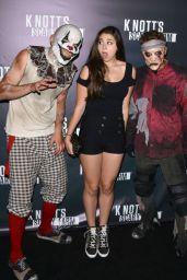 Kira Kosarin at Knotts Scary Farm Celebrity VIP Opening at Knott's Berry Farm
